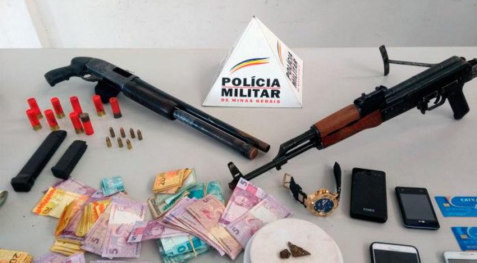 Grupo que assaltou posto da CEF em Unaí é preso em Uberlaândia