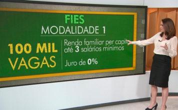 Inscrições para o Fies começam na próxima segunda-feira 19/02