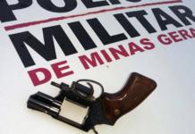 PMMG prende homem com arma irregular em barreira